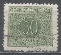 Czechoslovakia 1955. Scott #J85 (U) Postage Due, Numeral Of Value - Timbres-taxe