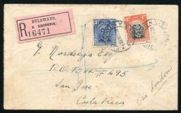 RHODESIA BULAWAYO ADMIRAL REGISTERED TO COSTA RICA - Grande-Bretagne (ex-colonies & Protectorats)
