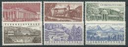 Tschechoslowakei 1958 Mi 1085 - 1090  Tschechoslowakische Bäder - Unused Stamps