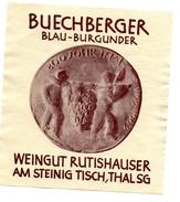 Etiquette De Vin . Buechberger - Labels