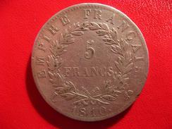 5 Francs Napoléon Ier 1810 L Bayonne - L à Gauche 5137 - France