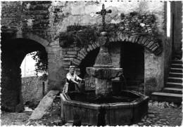 LE CRESTET (84) Jeune Comtadine à La Fontaine  - Photo Véritable - Sonstige Gemeinden