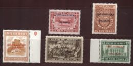 JERSEY JUSTICE STAMPS SPECIMEN - Regional Issues
