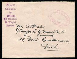 INDIA RAF DEMONSTRATION FLIGHT CALCUTTA DELHI GORDON HIGHLANDERS 1930 - India (...-1947)