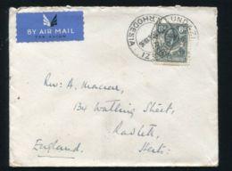NORTHERN RHODESIA LUNDAZI POSTMARK GEORGE FIFTH COVER 1936 - Northern Rhodesia (...-1963)