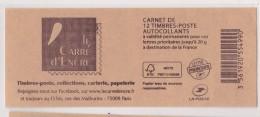 FRANCE 2014  CARNET CARRE D ENCRE - Uso Corrente