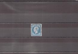 FRANCE 1854 N° 14 A OBLITERE - 1853-1860 Napoléon III.