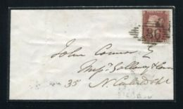 IRELAND DUBLIN SCARCE POSTMARK QUEEN VICTORIA 1856 - Ireland