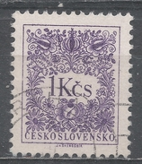 Czechoslovakia 1954. Scott #J88 (U) Postage Due, Numeral Of Value - Timbres-taxe