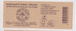 FRANCE 2014  CARNET SERIE PLANETE - Uso Corrente