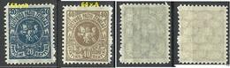 LITAUEN Lithuania 1921 Michel 63 - 64 * - Litauen