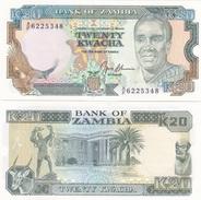 Zambia - 20 Kwacha 1991 UNC Lemberg-Zp - Zambia