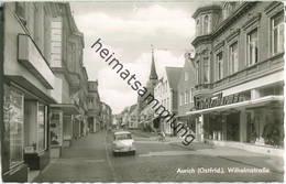 26603 Aurich - Wilhelmstrasse - Foto-Ansichtskarte - Verlag Cramers Kunstanstalt Dortmund - Aurich