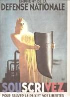Affiche Illustrée Par Paul Colin Emprunt De La Défense Nationale Documentation Photographique De 1964 - Documents