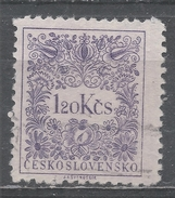 Czechoslovakia 1955. Scott #J89 (U) Postage Due, Numeral Of Value - Timbres-taxe