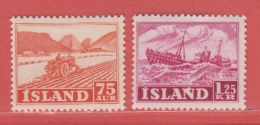 1952 ** (sans Charn., MNH, Postfrish)  Yv  227-230Mi  275/6FA  300-303 - 1944-... Republik