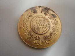 Méd. 1. Concours Du Syndicat D'élevage Bovin L'Avenir Mainvault 26 Juillet 1931 - Profesionales / De Sociedad