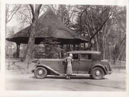 VOITURE RENAULT REINASTELLA 1932 - PHOTO M. DESJARDIN - 24x18 Cms - Automobile