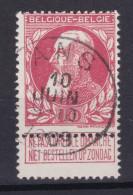 N° 74  ANS  COBA + 2.00 - 1905 Grosse Barbe