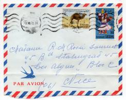 Tunisie--1972--Lettre De TUNIS Pour Nice (France)--timbres Chameau Ou Dromadaire+journée Timbre 71 - Tunisia