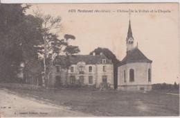 """56 MORBIHAN MONTENEUF   """" Château De La Voltais Et La Chapelle """" Lamire N° 6373 - Autres Communes"""