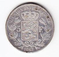BELGIUM MORIN CAT N° 154a SUP. (b1675) - 09. 5 Francs