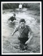 FINE PRESS PHOTO PRINCE CHARLES COMMANDO COURSE ROYAL MARINES DEVON 1974 - Other Collections
