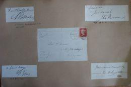 GREAT BRITAIN AUTOGRAPHS 19th CENTURY PRIME MINISTERS - 1840-1901 (Victoria)