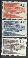 FINLANDE Timbres Pour Colis Par Bus N° 11 à 13 Neuf Sans Charnière