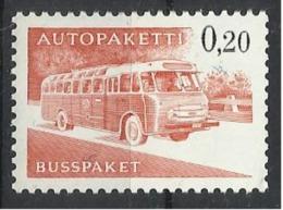 FINLANDE Timbre Pour Colis Par Bus N° 11 Neuf Sans Charnière