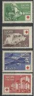 FINLANDE N° 271 à 274 Neuf Avec Charnière Année 1942