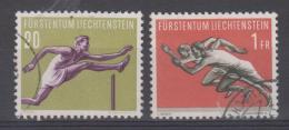 LIECHTENSTEIN - 305 + 307 Obli Cote 18,50 Euros Depart à 10% - Used Stamps
