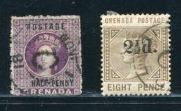 GRENADA VILLAGE POSTMARK QV - Grenada (...-1974)