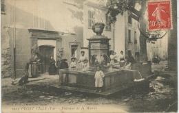 PUGET VILLE - Fontaine De La Mairie - France