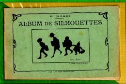 Livret  Album De Silhouettes  P.ROSSI ARTISTE DESSINATEUR - Fiches Didactiques