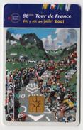 Carte Téléphone Tour De France 2001 Cyclisme Très Bon état - Sport