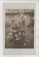 Militaires Allemand - Carte Photo - Lettre Postée D'AVILLERS (55) En 1915 - Autres Communes
