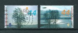 2007 Netherlands Complete Set Trees In Winter Used/gebruikt/oblitere - Periode 1980-... (Beatrix)