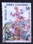 GUINEA ECUATORIAL 1986. Folklore. USADO - USED. - Guinea Española