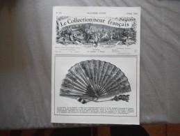 LE COLLECTIONNEUR FRANCAIS N°117 OCTOBRE 1975 LA COTE DES EVENTAILS,LE PETIT MONDE DES BIBELOTS .... - Brocantes & Collections