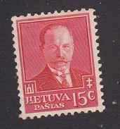 Lithuania, Scott #283, Mint Hinged, Pres. Smetona, Issued 1934 - Lithuania