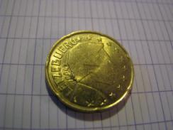 20 Cent Euro Letzebuerg ( Luxembourg ) 2004 Fauté - Lussemburgo