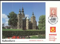 Norway 1991 / Philatelic Exhibition FRIMARKER I FORUM Copenhagen / MC - Philatelic Exhibitions