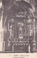Bf - Cpa THONES - Intérieur De L'Eglise - Chapelle Du Sacré Coeur - Thônes