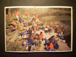 7982 EUROPA ETNICA MINYONS ESCOLTES I GUIES SAN JORDI DE CATALUNYA POSTCARD POSTAL AÑOS 80/90 - TENGO MAS POSTALES - Europa