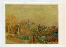 PAINTING - AK289331 Alfred Sisley - Frosty Morning In Louveciennes - Pintura & Cuadros