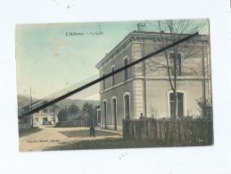 CPA  - L'Albenc  -  La Gare - L'Albenc