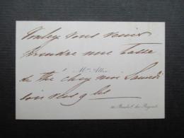 CARTE DE VISITE BELGIQUE (V1618) Mrs. ALLIX (2 Vues) 30, Boulevard Du Régent - Cartes De Visite
