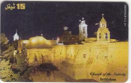 PALESTINE(chip) - Bethlehem, 01/00, Used