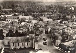 MAUZE-SUR-LE-MIGNON  VUE AERIENNE DU CENTRE DU BOURG - Mauze Sur Le Mignon